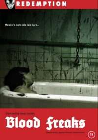 The DVD style cover for the feature