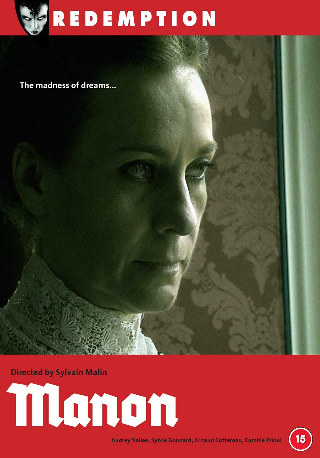 DVD cover for feature Manon