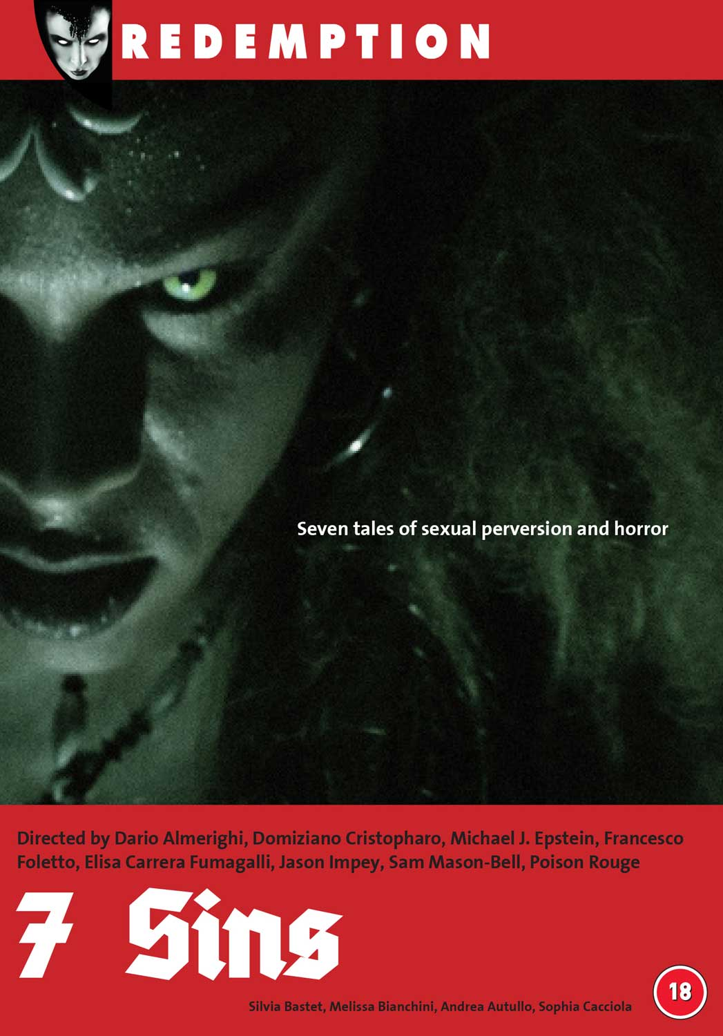 Stream erotic horror anthology 7 Sins on Redemption TV